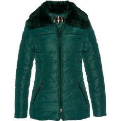 Kurtka pikowana bonprix głęboki zielony. Zielone kurtki damskie pikowane bonprix. Za 149,99 zł.