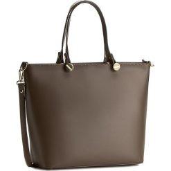 Torebka CREOLE - K10226 Ciemny Beż. Brązowe torebki klasyczne damskie Creole, ze skóry. W wyprzedaży za 249,00 zł.