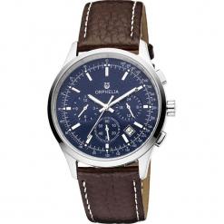 Zegarek kwarcowy w kolorze brązowo-srebrno-niebieskim. Brązowe, analogowe zegarki damskie Esprit Watches, ze stali. W wyprzedaży za 227,95 zł.