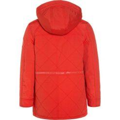 IKKS FULL WINT TRIBAL  Płaszcz zimowy orange. Czerwone płaszcze dziewczęce IKKS, na zimę, z bawełny. W wyprzedaży za 463,20 zł.