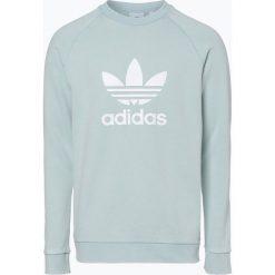 Bluzy męskie: adidas Originals - Męska bluza nierozpinana, zielony