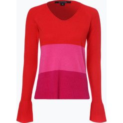 Comma - Sweter damski z dodatkiem kaszmiru, czerwony. Czerwone swetry klasyczne damskie comma, z kaszmiru. Za 399,95 zł.
