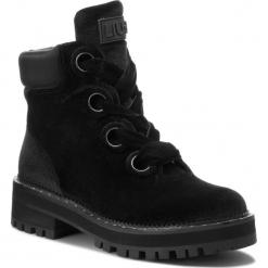 Trapery LIU JO - Pink 01 S68089 TX010 Black 22222. Czarne buty zimowe damskie Liu Jo, z materiału. Za 869,00 zł.