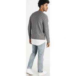 Swetry klasyczne męskie: Selected Homme SHHKENNET  Sweter dark grey melange/light grey melange