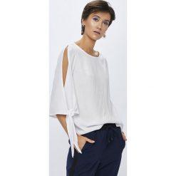Medicine - Koszula Basic. Szare koszule wiązane damskie MEDICINE, l, z tkaniny, casualowe, z okrągłym kołnierzem, z długim rękawem. W wyprzedaży za 49,90 zł.