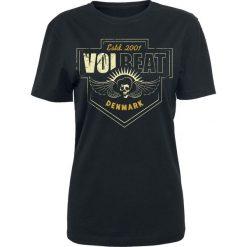 Bluzki asymetryczne: Volbeat Cross Koszulka damska czarny