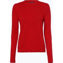 Franco Callegari - Damski sweter z wełny merino, czerwony. Zielone swetry klasyczne damskie marki Franco Callegari, z napisami. Za 229,95 zł.