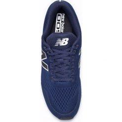 New Balance - Buty MRL005BN. Niebieskie halówki męskie New Balance, z materiału, na sznurówki. W wyprzedaży za 279,90 zł.