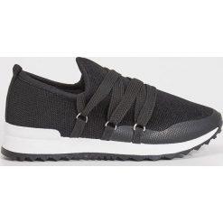 Trampki i tenisówki damskie: Sportowe buty slip on - Czarny