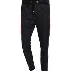 Spodnie męskie: Criminal Damage CUCCIO TRACK PANTS Spodnie treningowe black/gold