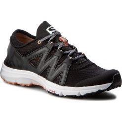 Buty SALOMON - Crossamphibian Swift W 393453 20 V0 Black/Phantom/Peach Nectar. Czarne buty do biegania damskie Salomon, z materiału. W wyprzedaży za 249,00 zł.