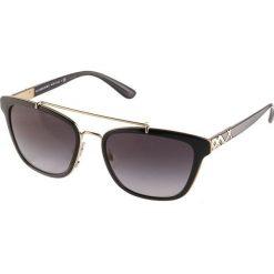 Burberry Okulary przeciwsłoneczne black. Czarne okulary przeciwsłoneczne damskie lenonki marki Burberry. Za 739,00 zł.