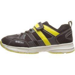 """Sneakersy """"Top Fly"""" w kolorze granatowo-żółtym. Niebieskie trampki chłopięce marki geox kids, z gumy. W wyprzedaży za 107,95 zł."""
