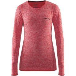 Craft Koszulka Damska Active Comfort Ls Czerwona M. Czerwone bluzki sportowe damskie marki Craft, m, z długim rękawem. W wyprzedaży za 129,00 zł.
