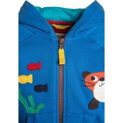 Frugi BABY HAYLE HOODY Bluza rozpinana sail blue. Niebieskie bluzy dziewczęce Frugi, z bawełny. Za 189,00 zł.