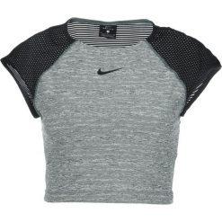 Nike Performance Tshirt basic vintage green/heather/black. Zielone topy sportowe damskie marki Nike Performance, xl, z materiału. Za 139,00 zł.