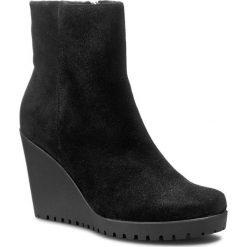 Botki GINO ROSSI - Miquela DBH093-145-5700-9900-F 99. Szare buty zimowe damskie marki Gino Rossi, z gumy. W wyprzedaży za 279,00 zł.