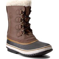 Śniegowce SOREL - 1964 Pac T NM1439 Hickory/Black 228. Brązowe glany męskie Sorel, z gumy. W wyprzedaży za 429,00 zł.