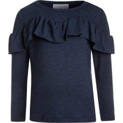 The New GISELLE  Bluzka z długim rękawem black iris. Białe bluzki dziewczęce z długim rękawem marki The New, z bawełny. Za 159,00 zł.