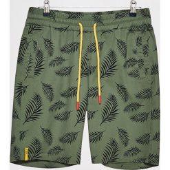Szorty z roślinnym printem - Khaki. Brązowe szorty męskie marki Reserved. W wyprzedaży za 39,99 zł.