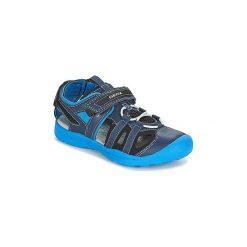 Sandały sportowe Dziecko  Geox  J GLEEFUL B. A. Niebieskie buty sportowe chłopięce marki Geox. Za 181,30 zł.