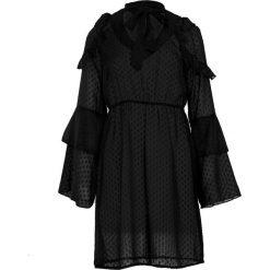 Czarna Sukienka Scene. Czarne sukienki other, l, z koszulowym kołnierzykiem, koszulowe. Za 99,99 zł.