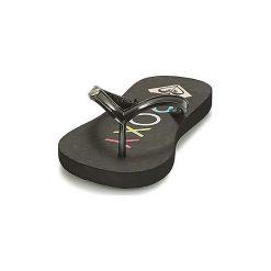 Japonki Dziecko  Roxy  RG SANDY II G SNDL BL1. Czarne klapki dziewczęce marki Roxy. Za 55,20 zł.