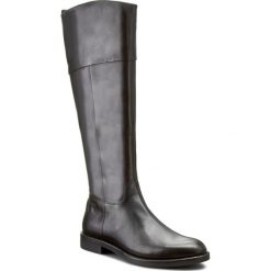 Oficerki VAGABOND - Amina 4203-401-20 Black. Czarne buty zimowe damskie Vagabond, z materiału, przed kolano, na wysokim obcasie, na obcasie. W wyprzedaży za 409,00 zł.