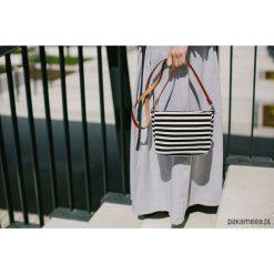Torebki i plecaki damskie: tS 03 :: torebka w czarno-białe paski