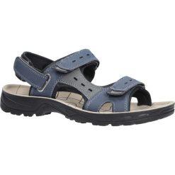 Granatowe sandały na rzepy Casu P03. Szare sandały męskie Casu, na rzepy. Za 39,99 zł.