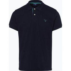 Gant - Męska koszulka polo, niebieski. Niebieskie koszulki polo marki GANT, m. Za 349,95 zł.