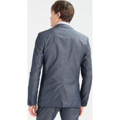 KIOMI Garnitur blue. Niebieskie garnitury KIOMI, z bawełny. W wyprzedaży za 411,75 zł.