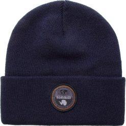 Czapka NAPAPIJRI - Fulton N0YHXW Blue Marine 176. Szare czapki męskie marki Napapijri, z dzianiny. W wyprzedaży za 139,00 zł.