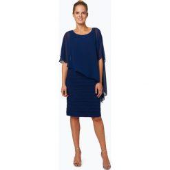 Ambiance - Elegancka sukienka damska, niebieski. Niebieskie sukienki balowe Ambiance, z szyfonu. Za 749,95 zł.