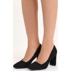 Czarne Czółenka Forever You. Czarne buty ślubne damskie marki Born2be, na wysokim obcasie, na słupku. Za 79,99 zł.