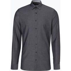 OLYMP No. Six - Koszula męska łatwa w prasowaniu, czarny. Czarne koszule męskie non-iron marki Cropp, l. Za 199,95 zł.