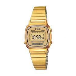 Zegarek Casio Zegarek damski Retro złoty (LA670WEGA-9EF). Żółte zegarki damskie CASIO, złote. Za 193,00 zł.