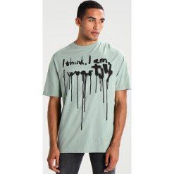 T-shirty męskie z nadrukiem: Tiger of Sweden Jeans FLUKE Tshirt z nadrukiem light peacock