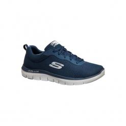 Buty męskie do szybkiego marszu Dual Lite w kolorze niebieskim. Niebieskie buty fitness męskie marki Skechers. Za 219,99 zł.