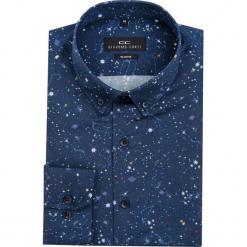 Koszula SIMONE KDGS000068. Czarne koszule męskie na spinki marki TOM TAILOR DENIM, l, z bawełny, button down, z długim rękawem. Za 199,00 zł.