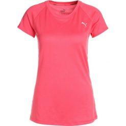 Puma EPIC TEE Tshirt z nadrukiem paradise pink heather. Pomarańczowe topy sportowe damskie marki Puma, xs, z nadrukiem, z elastanu. W wyprzedaży za 135,20 zł.