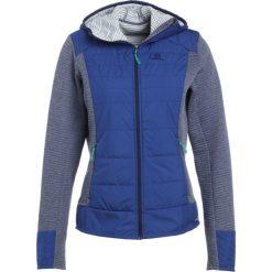 Salomon RIGHT NICE HYBRID  Kurtka Outdoor medieval blue. Niebieskie kurtki damskie Salomon, xs, z materiału, outdoorowe. W wyprzedaży za 419,30 zł.