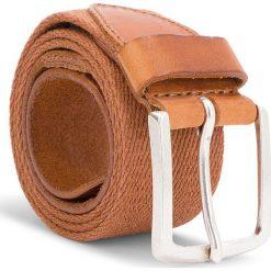 Pasek Męski WRANGLER - Canvas Belt W0B338994 85 Rust. Brązowe paski męskie Wrangler, w paski, z materiału. Za 149,00 zł.