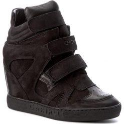 Sneakersy CARINII - B3953/N 360-E50-000-B88. Czarne sneakersy damskie Carinii, z materiału. W wyprzedaży za 269,00 zł.