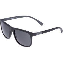 Emporio Armani Okulary przeciwsłoneczne black/grey. Czarne okulary przeciwsłoneczne męskie wayfarery Emporio Armani. Za 449,00 zł.