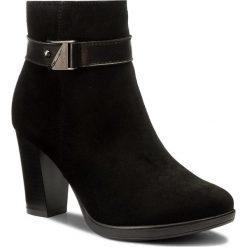 Botki LASOCKI - MORELLI-03 Czarny. Czarne buty zimowe damskie Lasocki, ze skóry, na obcasie. Za 279,99 zł.