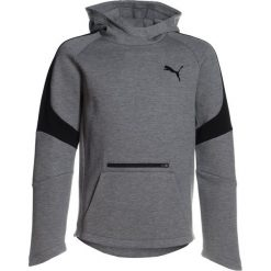 Bluzy chłopięce: Puma EVOSTRIPE MOVE HOODY  Bluza z kapturem medium gray heather