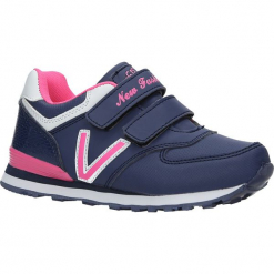 Granatowe buty sportowe na rzepy Casu FA334N. Szare buciki niemowlęce Casu, na rzepy. Za 59,99 zł.