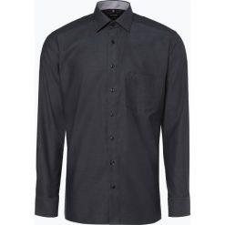 OLYMP Luxor modern Fit - Koszula męska – niewymagająca prasowania, czarny. Czarne koszule męskie non-iron marki Cropp, l. Za 179,95 zł.