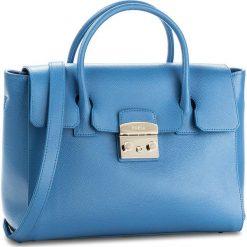 Torebka FURLA - Metropolis 920367 B BGZ8 VFO Celeste C. Niebieskie torebki klasyczne damskie Furla. W wyprzedaży za 1479,00 zł.